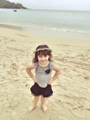 Maria Alice  minha Filha de 8 anos
