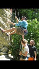 Belaying in New Zealand