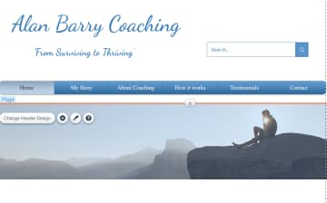 Alan's coaching website  www.alanbarrycoaching.com