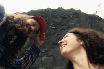 Kelly & Jeremy on the Oregon coast!