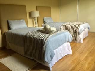 A spare bedroom