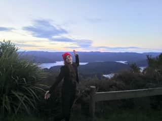 Me on a 4 day hike in Te Urewera..such a majestic place