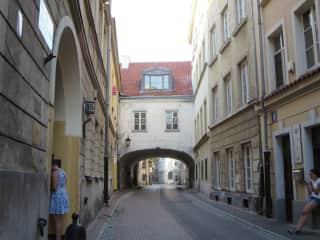 Back Street In Warsaw