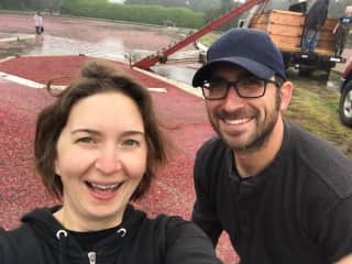 Volunteer cranberry farmers for a day in Washington state. We aren't afraid to roll up our sleeves, should your property need a little TLC.