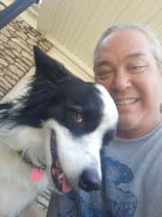 Meet my sweet Lainey, she's my special needs Border Collie rescue dog. I'm so happy and grateful to share my life with her!