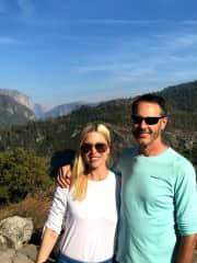 Yosemite with Lisa