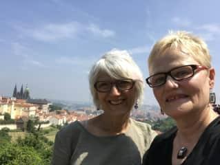 Me and my friend Vladi in Prague
