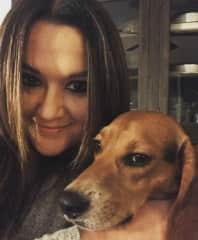 Me with my beagle, Charles Barkowski
