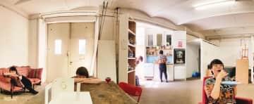 Me at my studio in Kreuzberg