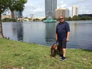Capone with Stewart - Orlando, Florida Trustedhousesit