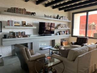Den TV room