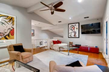 Former Living Room in Austin