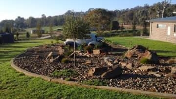 Our rock garden