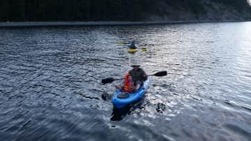 We love kayaking and exploring!