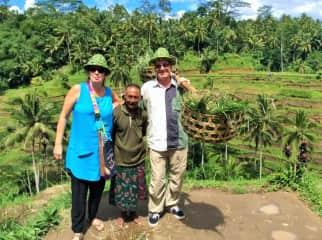 Max and Barbara in Bali.