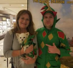 In Las Vegas for work & got to meet Piff & Mr. Piffles from AGT