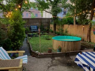 Our private backyard