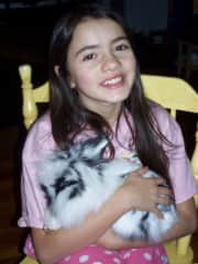 When my daughter was young, we raised two rabbits! They were so much fun! They also became therapy pets!