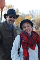 Mark and Pam Cline in Quebec, Canada
