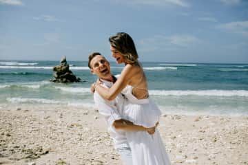 Our wedding in Bali
