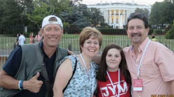 Leading tours in DC