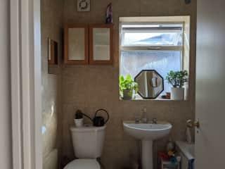 Bathroom - with bath/shower