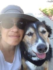 Me and my dog Mima