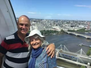 Anne and Allan, The London Eye