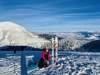 Skiing in Jackson Hole!