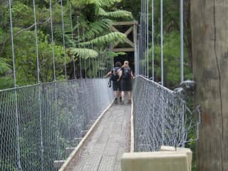 Swing Bridge   Annapurna Hiking in the Himalayas
