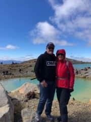 Walking the Tongariro Crossing