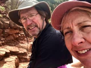 Hiking the Grand Canyon,
