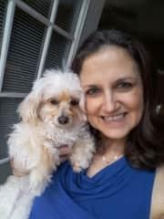 My sweet rescue, Daisy