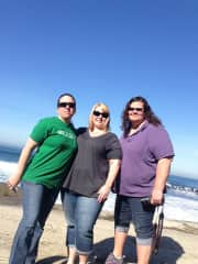 Traveling in California with friends