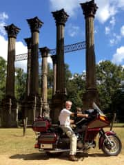 Touring the American South by motorcycle