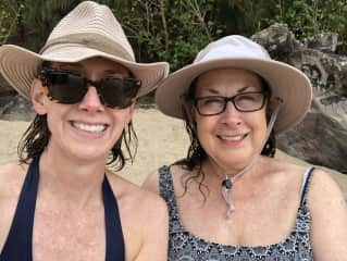 Me and mom in Maui.