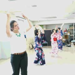 After a day of observing and participating in Japanese fan dancing I came to grow closer to a group of my students and better appreciate Japanese culture.