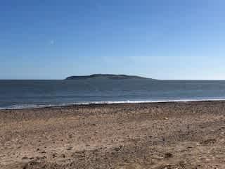 View of Lambay Island