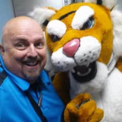 Me and the Tiger from my school...