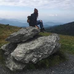 Me and the Blue ridge Mountains