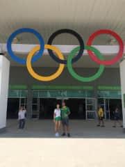 At Olympic games, Rio-2016