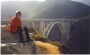 Travel has always been a big love of mine. At Bixby Bridge on the PCH.