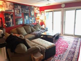 family room off of kitchen