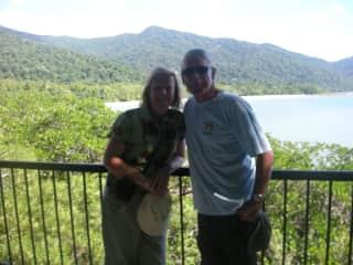 Bob and Sue in North Queensland Australia.