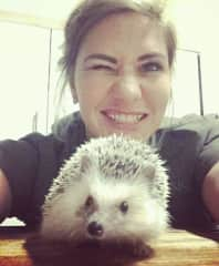Minette + Munchie the Hedgehog