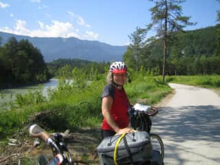 On a bicycle tour in Italy