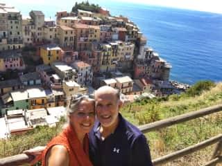 Lori & Angelo in Italy