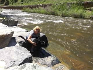 Taking care of Altai in Colorado June 2021