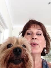 My new pet friend Lexie in Ireland.