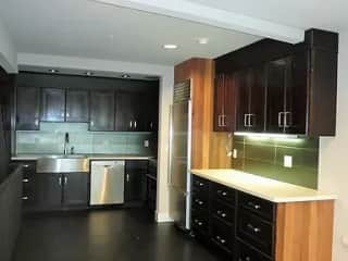 Kitchen prior to moving in